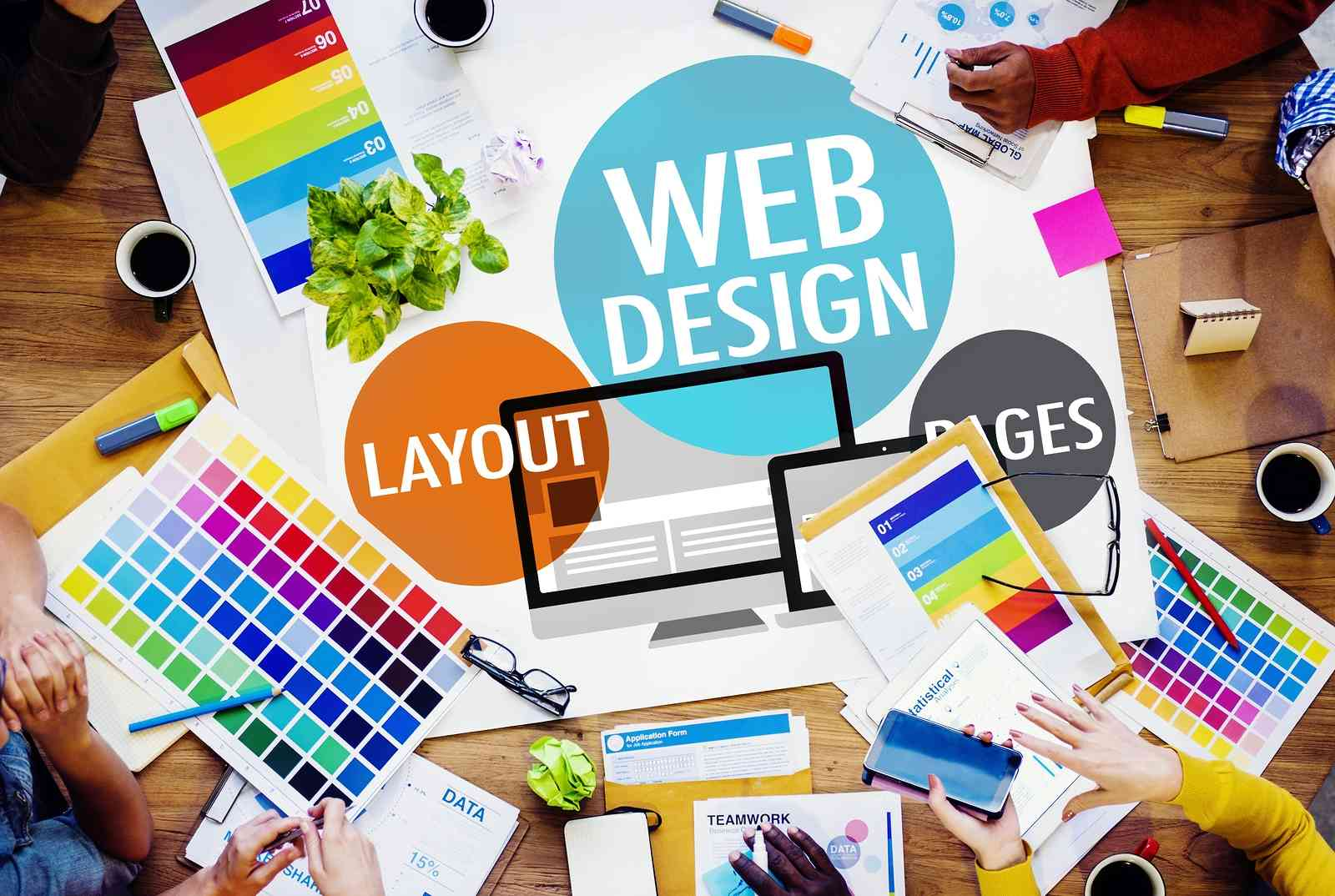 Web designers illustration