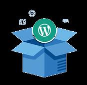 Wordpress theme and plugin update icon